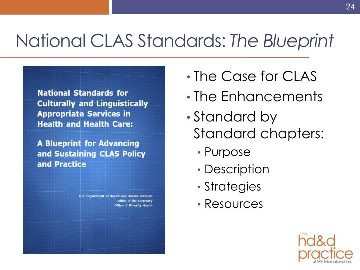 National CLAS Standards: