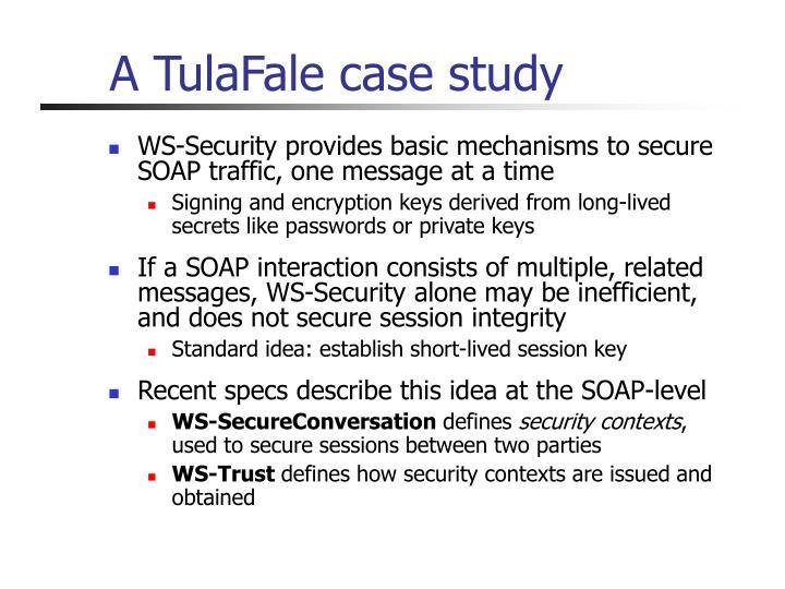 A TulaFale case study