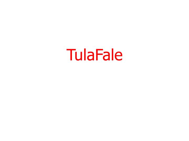 TulaFale