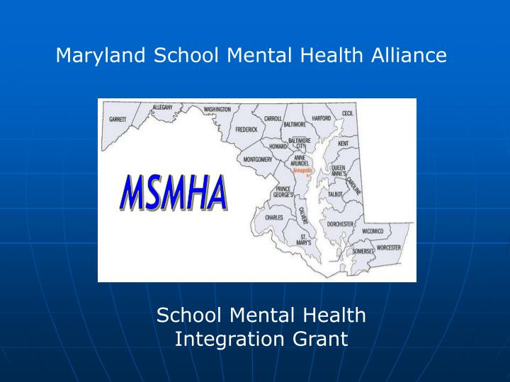 Maryland School Mental Health Alliance