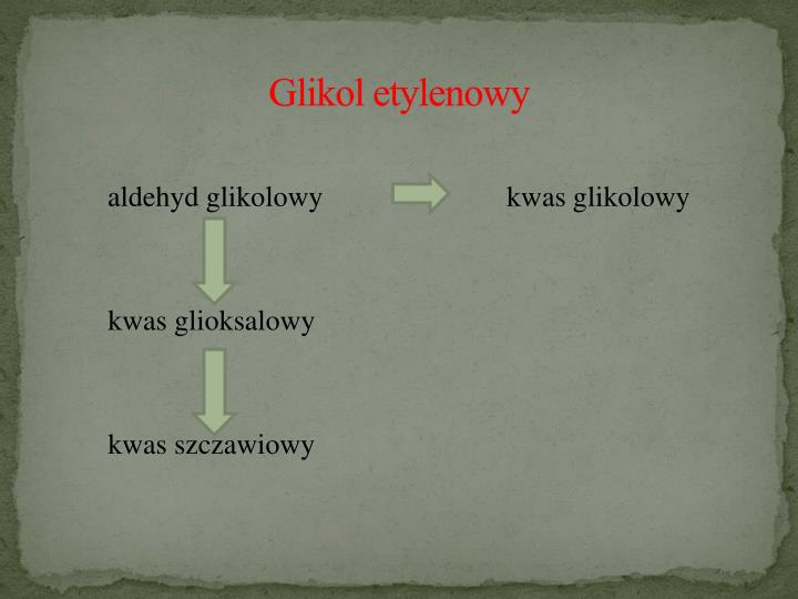 Glikol etylenowy