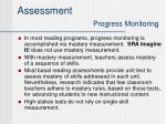 assessment progress monitoring1