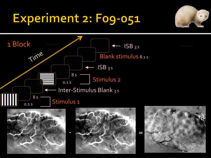 Experiment 2: F09-051