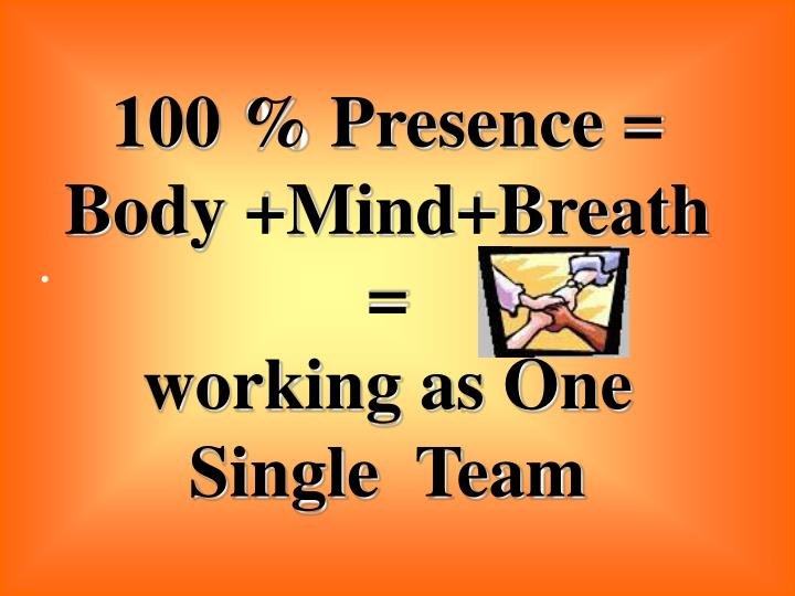 100 % Presence =