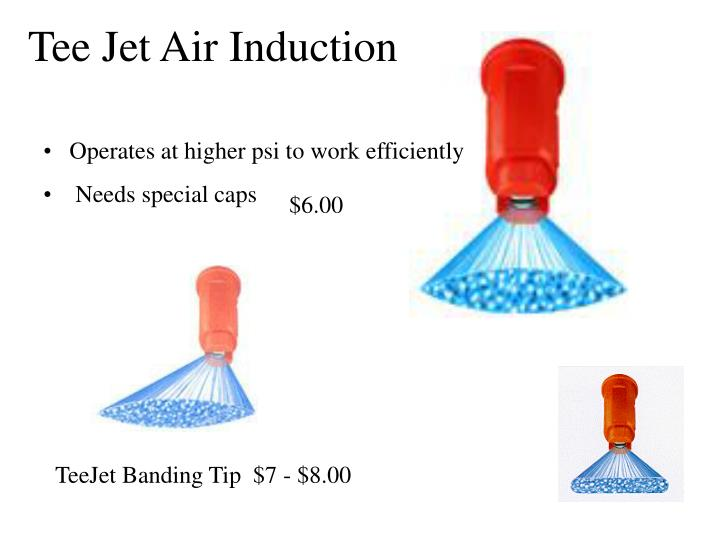 Tee Jet Air Induction