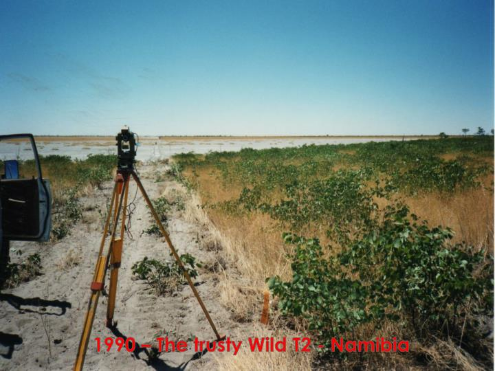 1990 – The trusty Wild T2 - Namibia