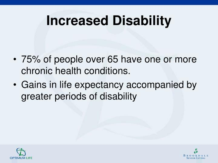 Increased Disability
