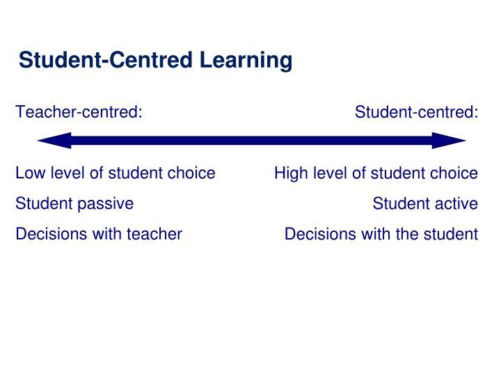 Teacher-centred: