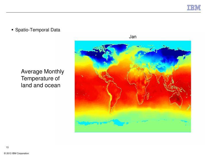 Spatio-Temporal Data