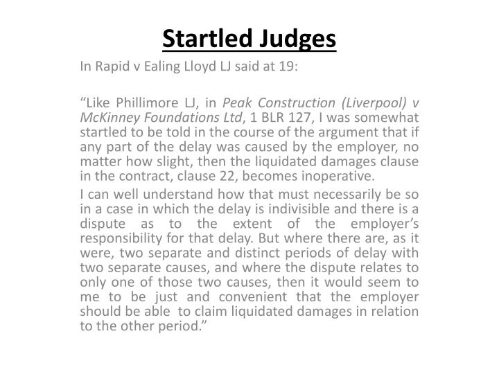 Startled Judges
