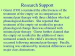 research support2
