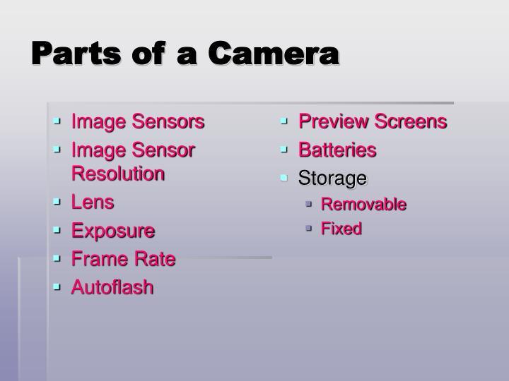 Image Sensors
