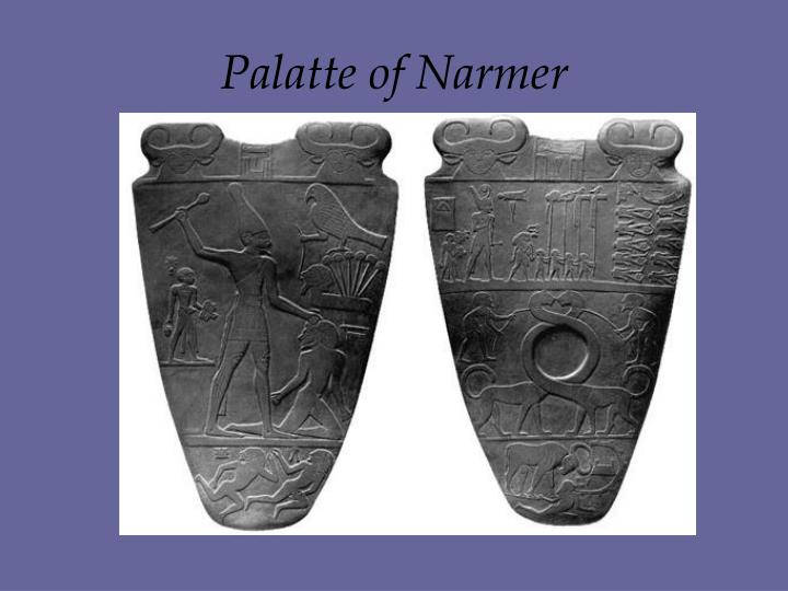 Palatte of Narmer