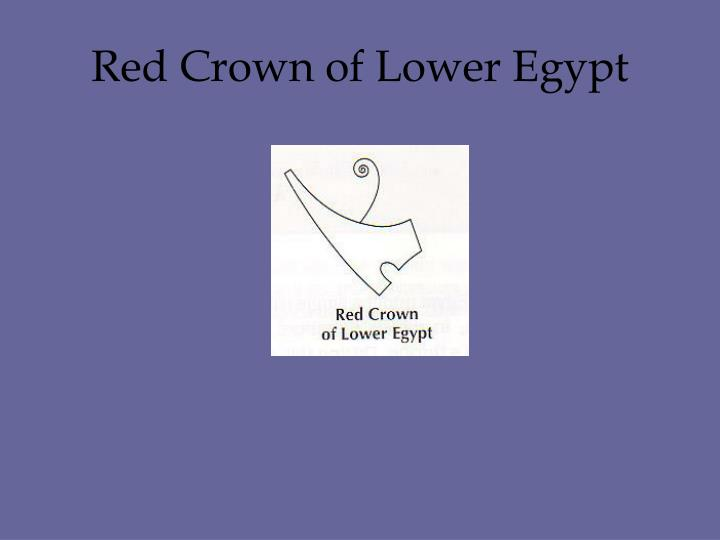 Red Crown of Lower Egypt