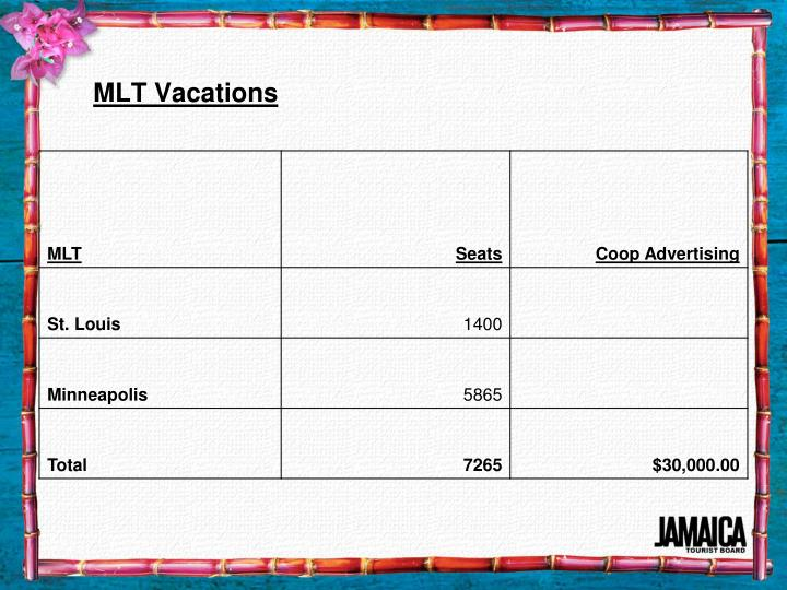 MLT Vacations