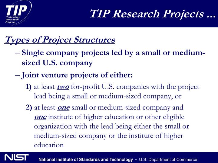 Types of Project Structures