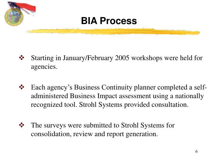BIA Process