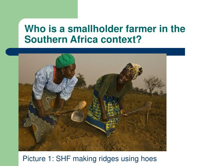 Who is a smallholder farmer in the Southern Africa context?