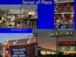 sense of place1