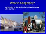 what is geography1