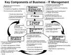 key components of business it management