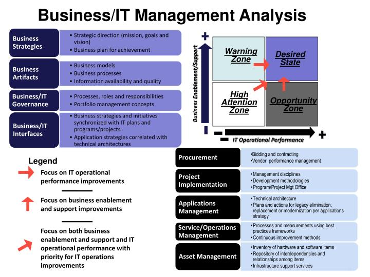 Business/IT Management Analysis