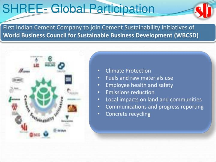 SHREE- Global Participation
