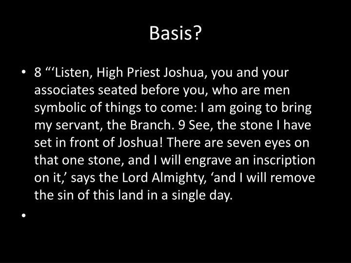 Basis?