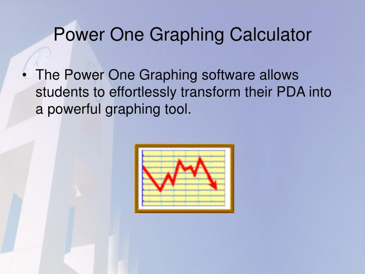 Power One Graphing Calculator