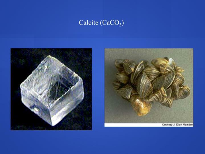 Calcite (CaCO