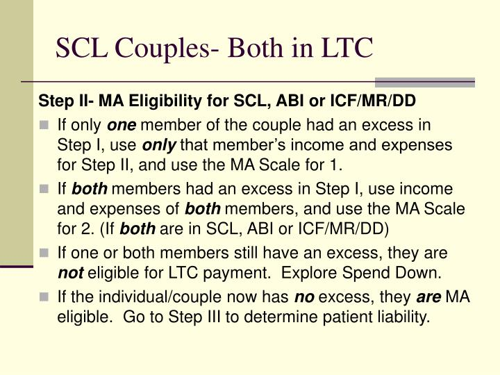 SCL Couples- Both in LTC