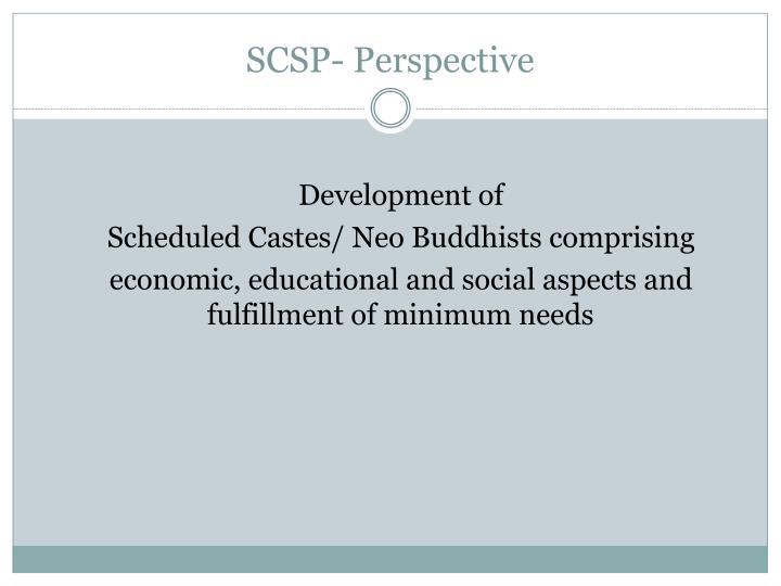 SCSP- Perspective