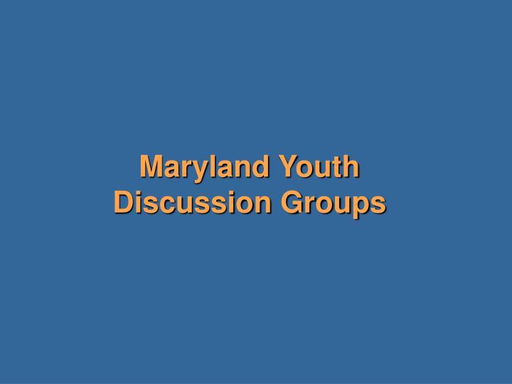 Maryland Youth