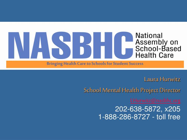 Bringing Health Care to Schools for Student Success