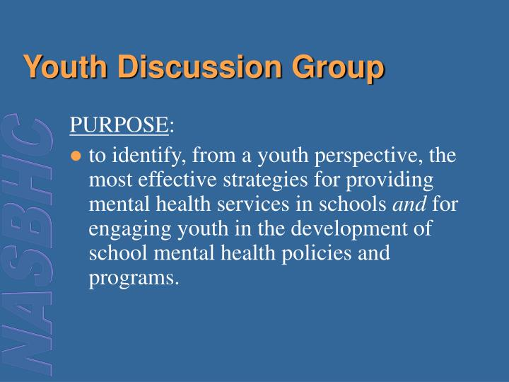 Youth Discussion Group