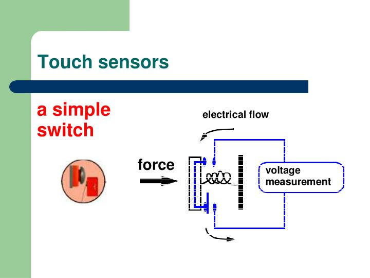 Touch sensors