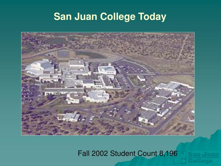 San Juan College Today