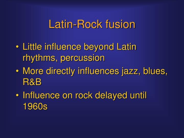 Latin-Rock fusion