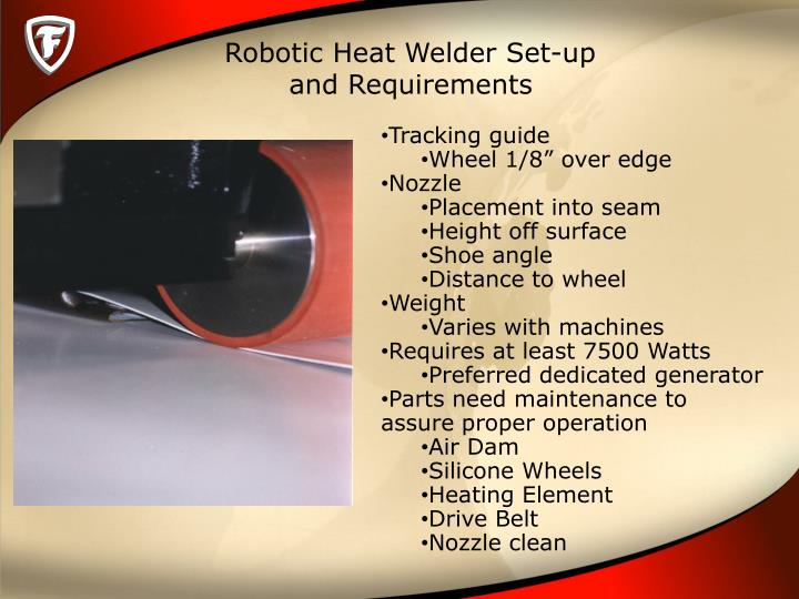Robotic Heat Welder Set-up
