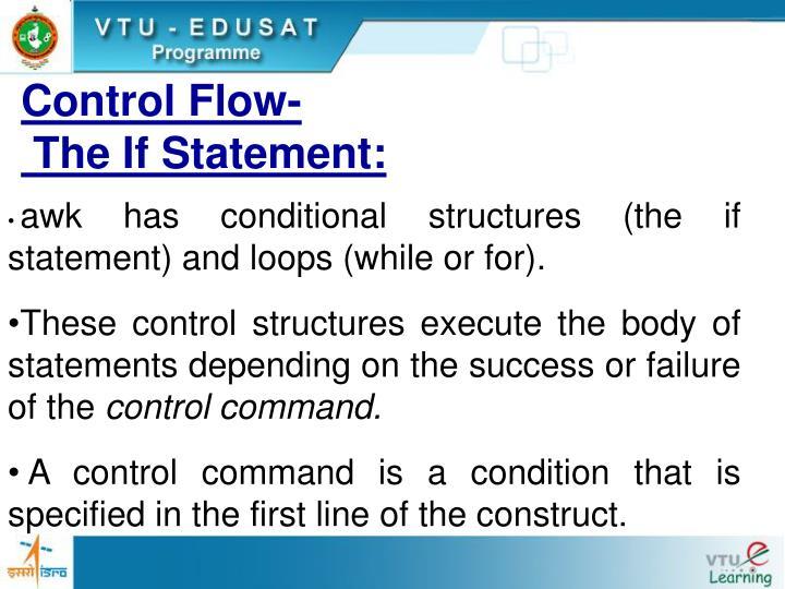 Control Flow-