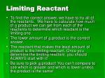 limiting reactant1