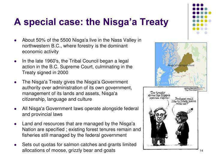A special case: the Nisga'a Treaty