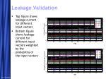 leakage validation1