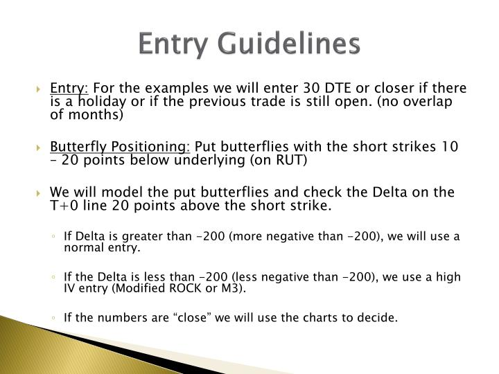 Entry Guidelines