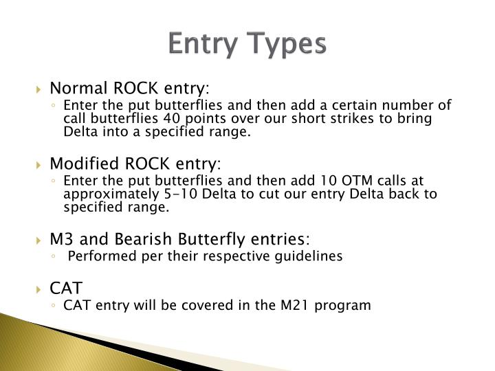 Entry Types