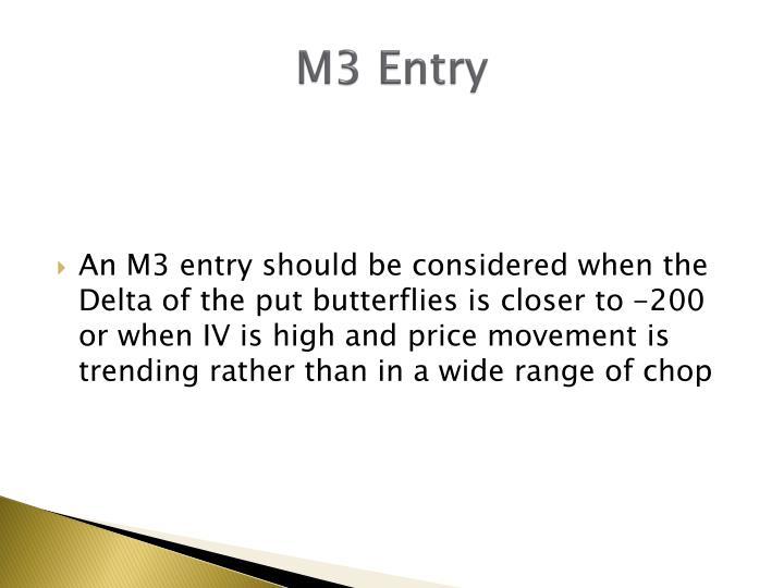 M3 Entry