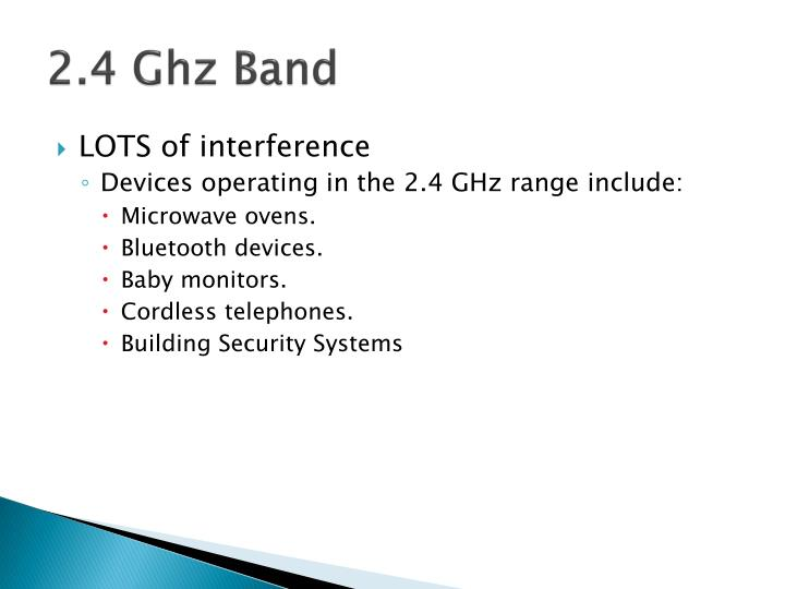 2.4 Ghz Band