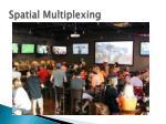 spatial multiplexing