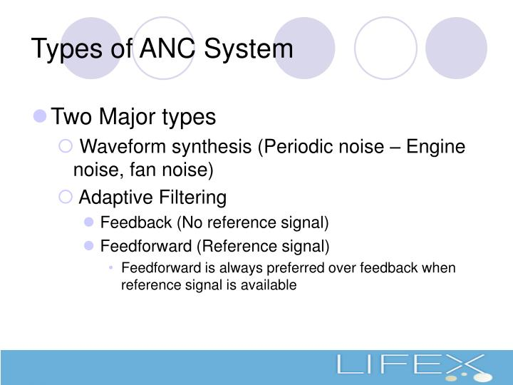 Types of ANC System