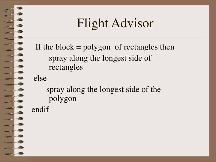 Flight Advisor
